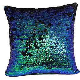 Make-Your-Own-Pillow Mermaid Square Throw Pillow Cover
