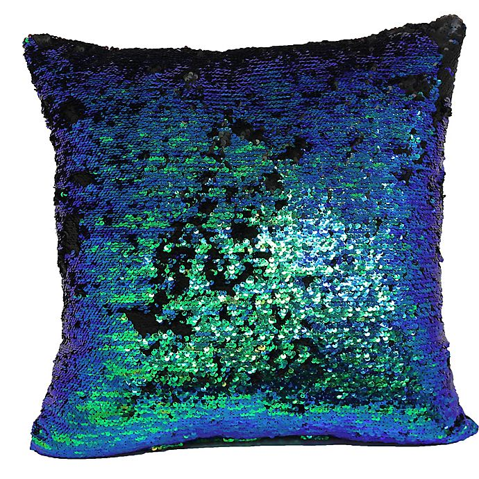 Make Your Own Pillow Mermaid Square Throw Pillow Cover
