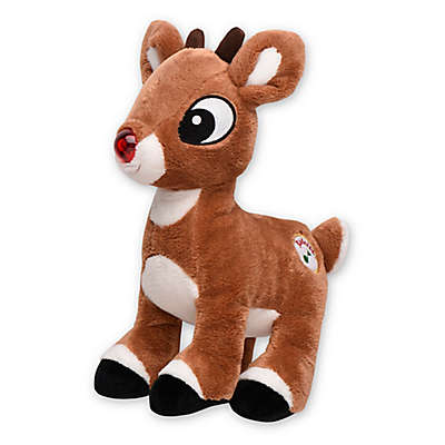 My 1st Rudolph Light-Up Musical Plush Toy