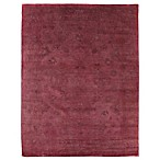 Exquisite Rugs Overdyed 6-Foot x 9-Foot Area Rug in Pink