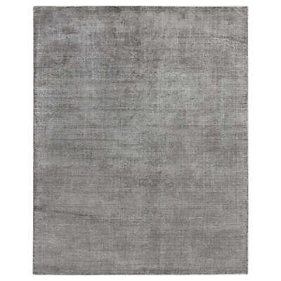 Exquisite Rugs Duo 8-Foot x 10-Foot Area Rug in Silver/Dark Grey