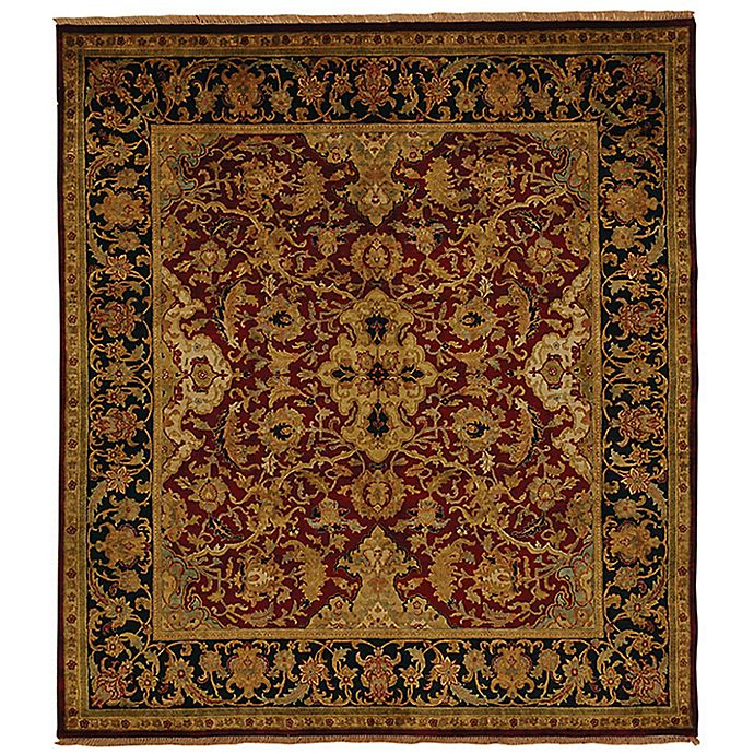Alternate image 1 for Exquisite Rugs Polonaise 8-Foot x 10-Foot Area Rug in Burgundy