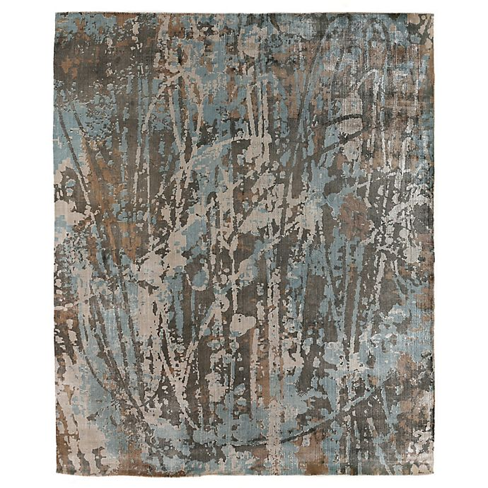 Alternate image 1 for Exquisite Rugs Koda 8-Foot x 10-Foot Area Rug in Blue/Brown