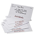 Our Recipe For A Happy Marriage 3-Inch x 5-Inch Recipe Cards (Set of 24)