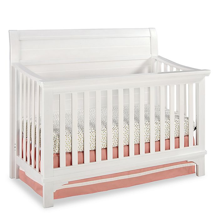 Westwood Design Taylor 4 In 1 Convertible Crib Seashell White