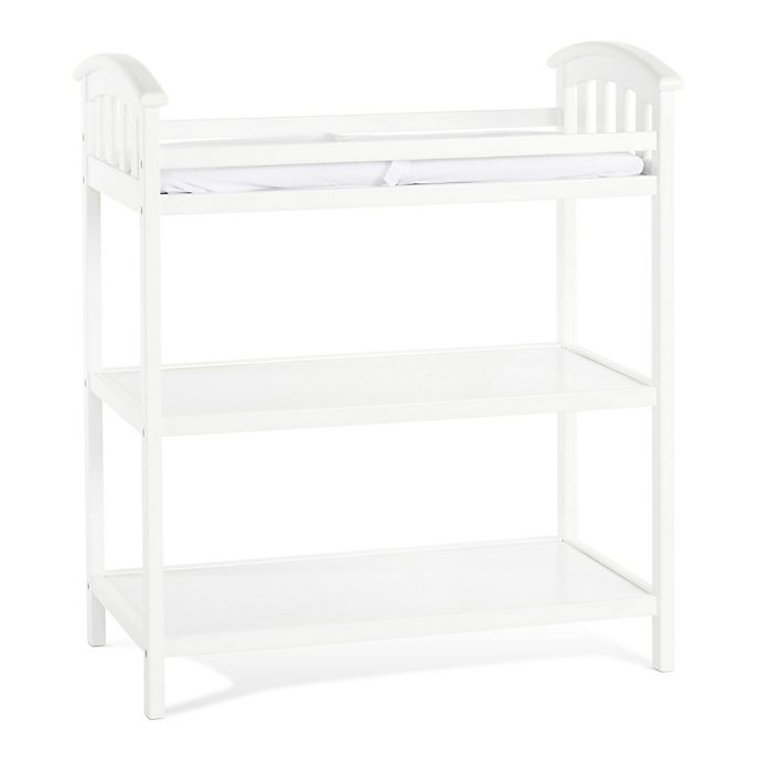 Alternate image 1 for Child Craft™ Delaney Changing Table in Matte White
