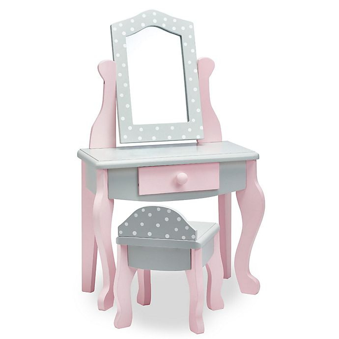 Remarkable Teamson Olivias Little World 18 Inch Doll Vanity Table And Gmtry Best Dining Table And Chair Ideas Images Gmtryco