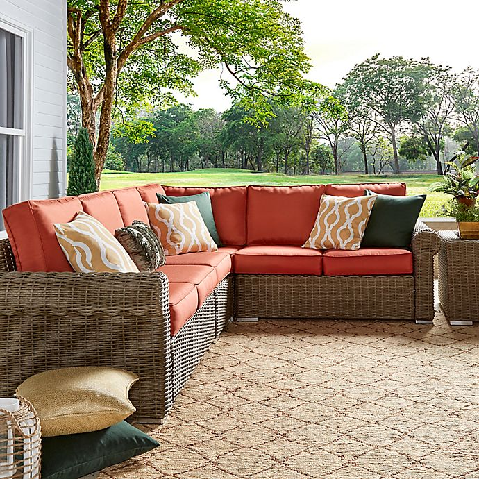 View A Larger Version Of This Product Image Click To Zoom Alternate 1 For Verona Home Brescia Outdoor Rattan Wicker Furniture Collection