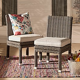 Verona Home Brescia Rattan Dining Side Chair (Set of 2)