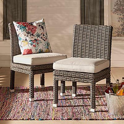 Verona Home Brescia Rattan Dining Side Chair (Set of 2)