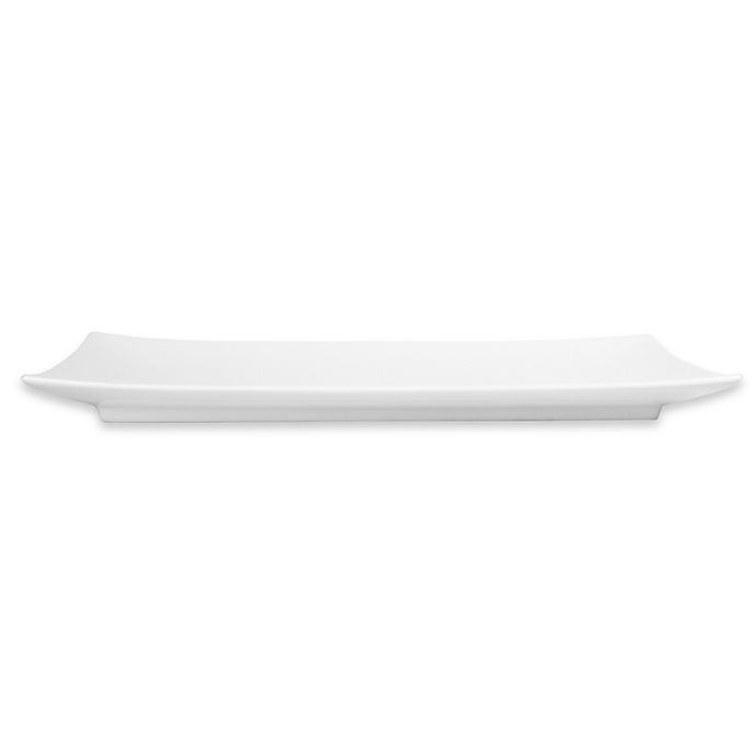 Alternate image 1 for Everyday White® by Fitz and Floyd® 15.5-Inch Rectangular Platter