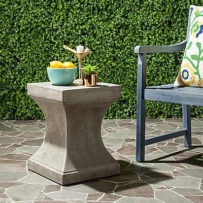 Safavieh Curby Concrete Accent Table