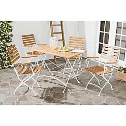 Safavieh Lawndale 5-Piece Wood Dining Set