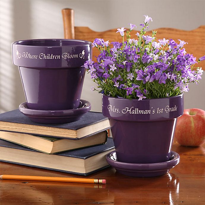 Alternate image 1 for Where Children Bloom Flower Pot