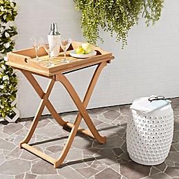 Safavieh Covina Patio Tray Table