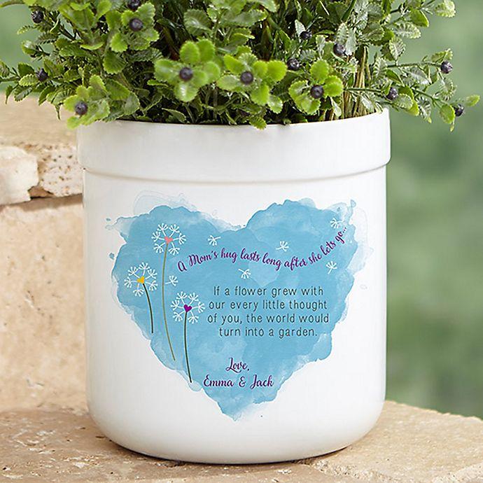 Alternate image 1 for A Mom's Hug Outdoor Flower Pot