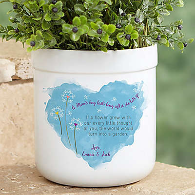 A Mom's Hug Outdoor Flower Pot