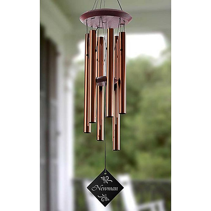 Alternate image 1 for Elegant Name Personalized Wind Chime