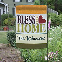 Bless Our Home Garden Flag