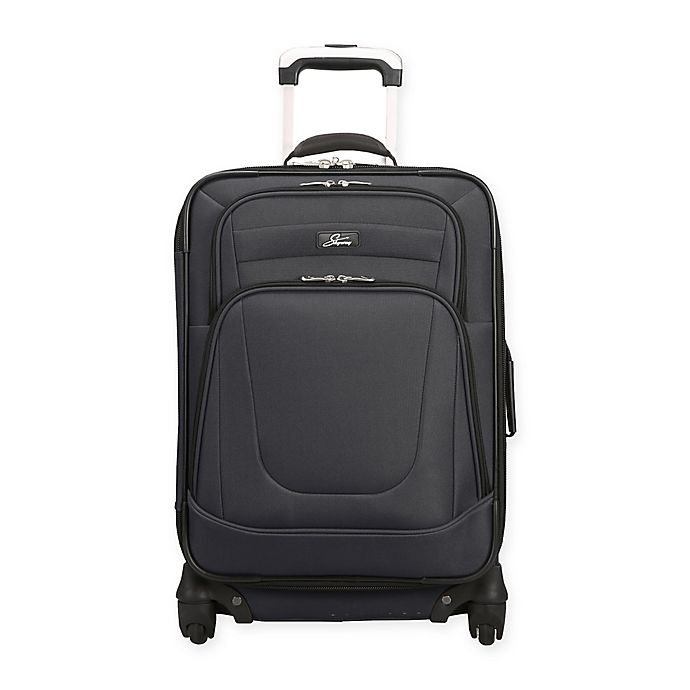 Alternate image 1 for Skyway® Epic 20-Inch Spinner Carry On Luggage in Black