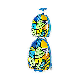 Heys® Britto™ 2-Piece Blue Frog Kids Luggage and Backpack Set