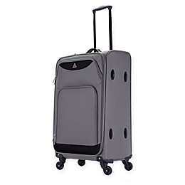 InUSA Light-Fi 24-Inch Spinner Checked Luggage