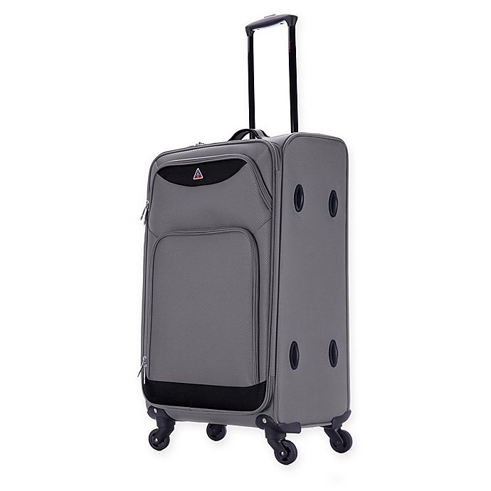 Alternate image 1 for InUSA Light-Fi 24-Inch Spinner Checked Luggage