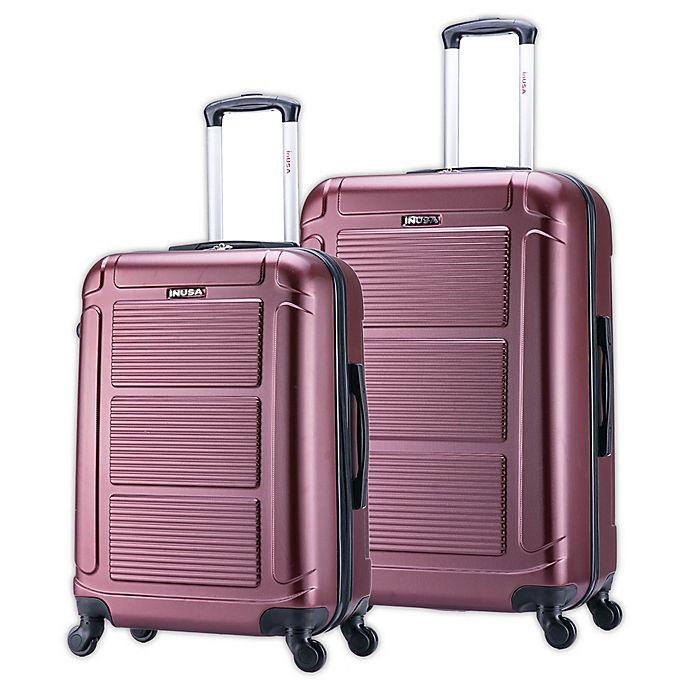 Alternate image 1 for InUSA Pilot Hardside Spinner Checked Luggage
