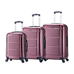 InUSA Pilot 3-Piece Hardside Spinner Luggage Set