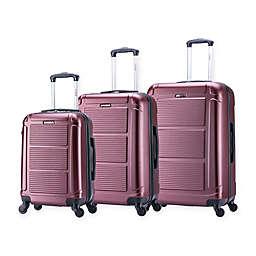 InUSA Pilot 3-Piece Hardside Spinner Luggage Set