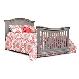 Sorelle Finley Crib and Changer Adult Rail in Weathered Grey