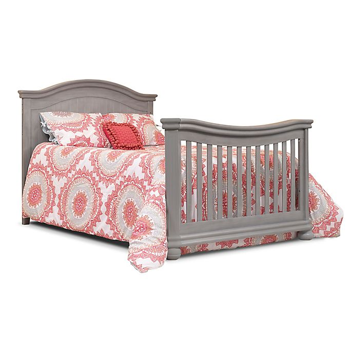 Sorelle Finley Crib And Changer Adult Rail In Weathered