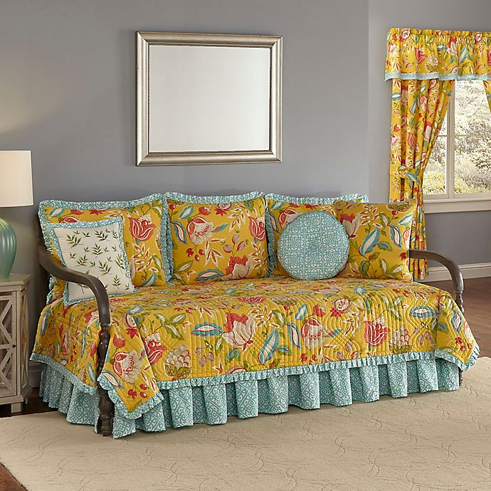 Waverly® Modern Poetic Reversible Daybed Cover Set in ...
