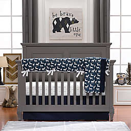 Liz and Roo Woodland Deer Crib Bedding Collection