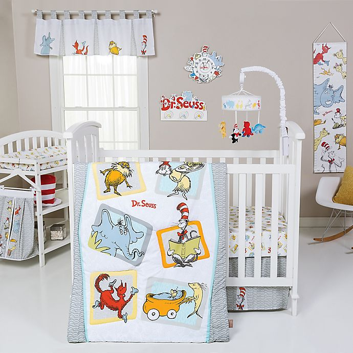 Alternate image 1 for Trend Lab® Dr. Seuss™ Friends Nursery Collection