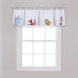 Trend Lab® Dr. Seuss™ Friends Tab-Top Window Valance