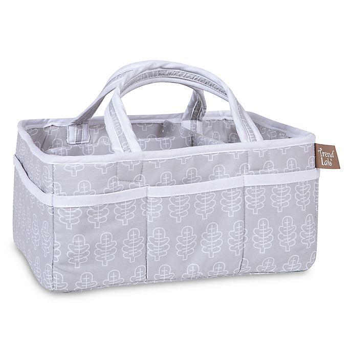 Alternate image 1 for Trend Lab® Olive Owl Leaf Storage Caddy in Grey