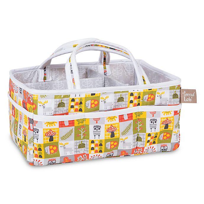 Alternate image 1 for Trend Lab® Olive Owl Storage Caddy