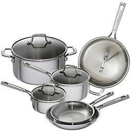 Emeril™ Tri-Ply Stainless Steel 10-Piece Cookware Collection