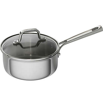 Emeril™ 2 qt. Tri-Ply Stainless Steel Covered Saucepan