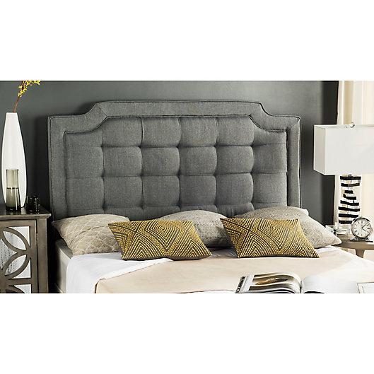 Alternate image 1 for Safavieh Sapphire Tufted Velvet Upholstered Headboard