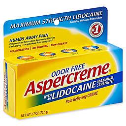 Aspercreme® 2.7 oz. Maximum Strength Odor-Free Pain Relieving Creme with Lidocaine