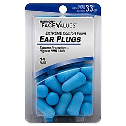 Harmon® Face Values® 14-Count Comfort Foam Extreme NRR 33 dB Ear Plugs