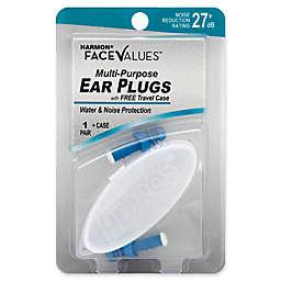 Harmon® Face Values® Multi-Purpose NRR 27 dB Ear Plugs with Case