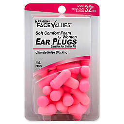 Harmon® Face Values® 14-Count Women's Soft Comfort Foam NRR 32 dB Ear Plugs in Pink