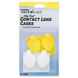 Harmon® Face Values® 2-Count Flip-Top Contact Lens Case