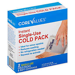Core Values™ 2-Count Single-Use Instant Cold Pack