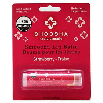 Shoosha Smoocha .15 oz. Organic Lip Balm in Strawberry
