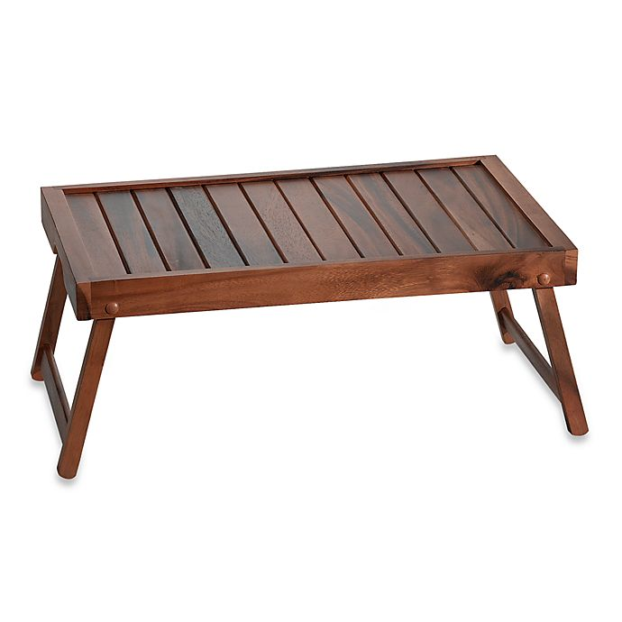 Alternate image 1 for Acacia Wood Bed Tray