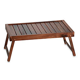 Acacia Wood Bed Tray